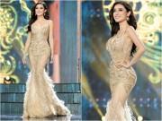 Thời trang - Tiết lộ về váy trăm triệu của Huyền My tại chung kết Hoa hậu Hòa bình
