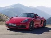 Porsche 718 Boxster/Cayman GTS 2018 giá từ 1,81 tỷ đồng