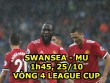 """Swansea - MU:  """" Quỷ đỏ """"  lâm bệnh, khó khăn chồng chất"""