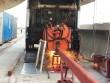 Máy hàn  quái vật  đang lắp đường ray metro Bến Thành -Suối Tiên