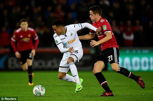 Chi tiết Swansea - MU: Hụt bàn danh dự phút chót (KT) 20