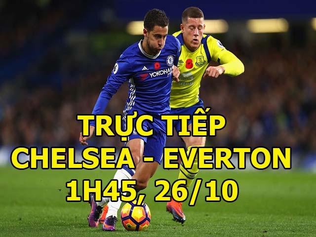 Chelsea - Everton: 4 phút bù giờ & 2 bàn cân não (vòng 4 League Cup) 2
