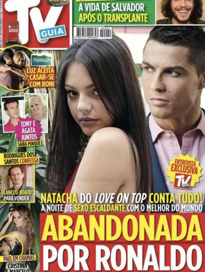 """Bồ xinh mang bầu, người đẹp dụ Ronaldo """"tình một đêm"""" 2"""