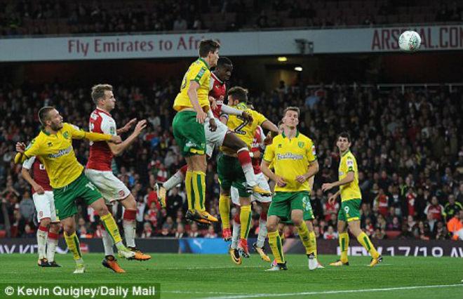 Arsenal - Norwich: 120 phút ngược dòng nghẹt thở (vòng 4 League Cup)
