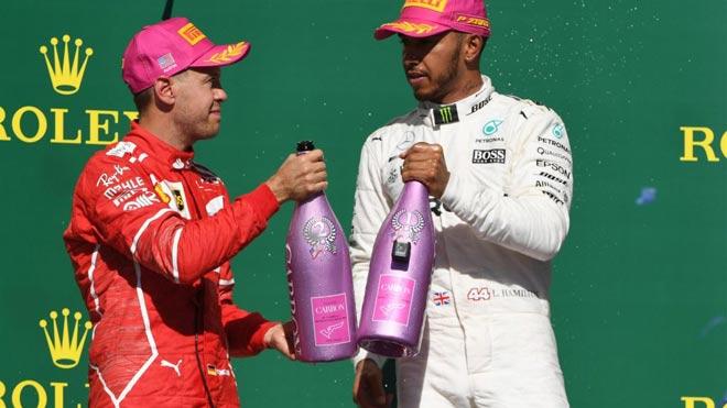 """Đua xe F1: Số 4 may mắn cho """"Mũi tên bạc"""" và """"Viên ngọc đen"""" 1"""