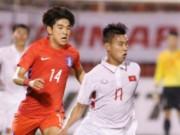 """U23 Việt Nam rơi bảng  """" tử thần """"  U23 châu Á: Báo Hàn Quốc e dè"""