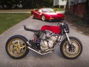 """Ngắm Honda CB600F phong cách cafe racer cực  """" ngầu """""""