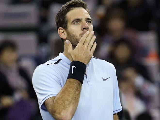 Basel Open ngày 2: Del Potro tiến sát vé dự ATP Finals 1