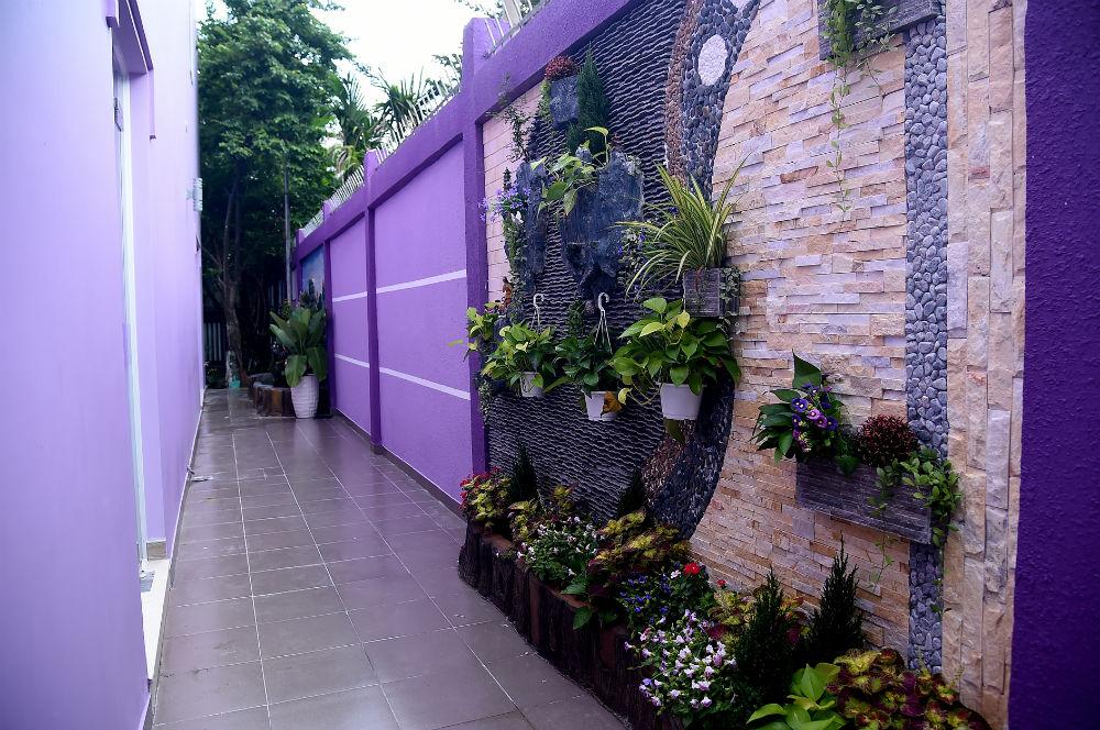 Ngôi nhà màu tím hơn 100 m2 gần triệu đô của nghệ sĩ hài Hồng Tơ - 2