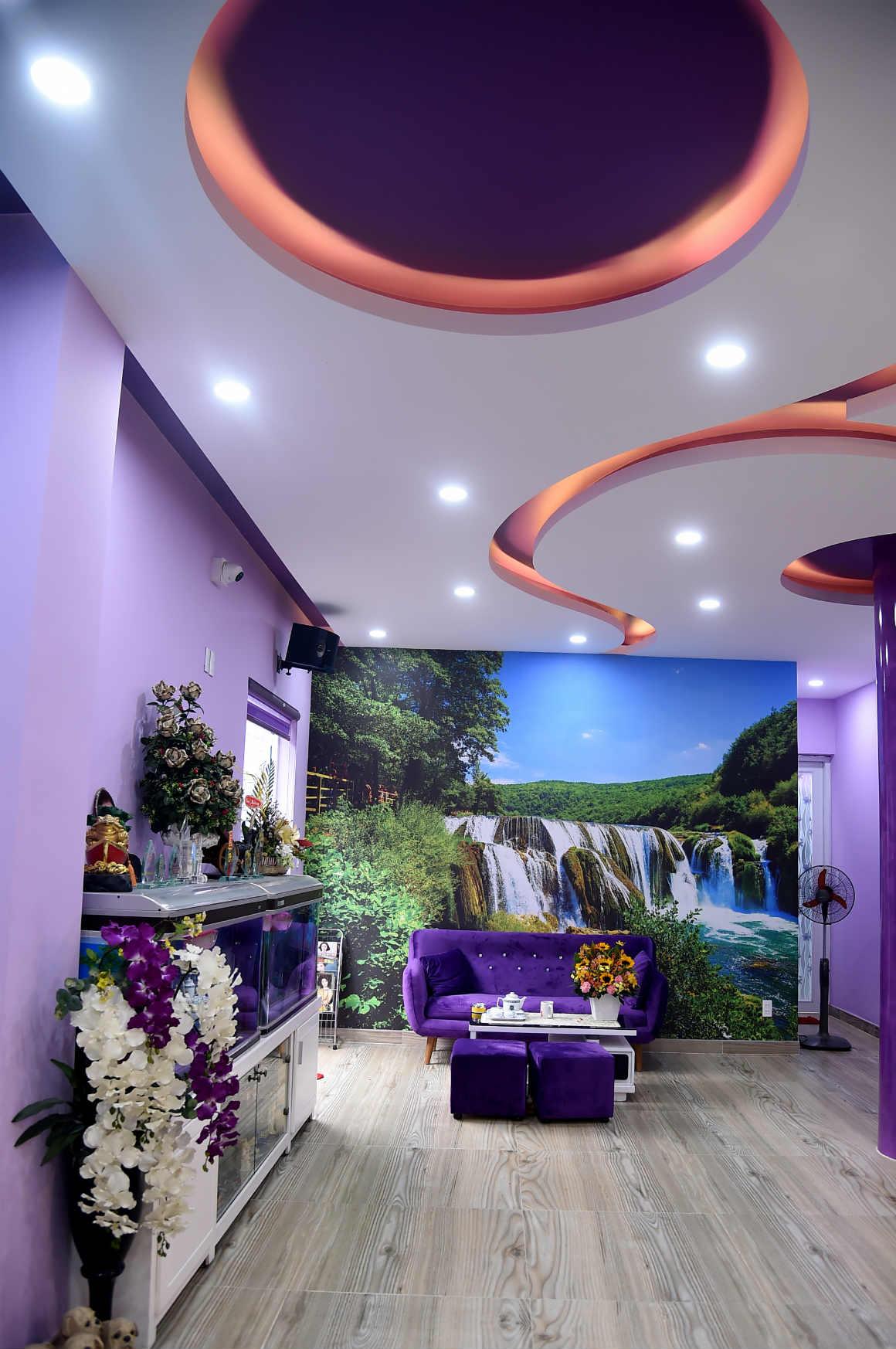 Ngôi nhà màu tím hơn 100 m2 gần triệu đô của nghệ sĩ hài Hồng Tơ - 3