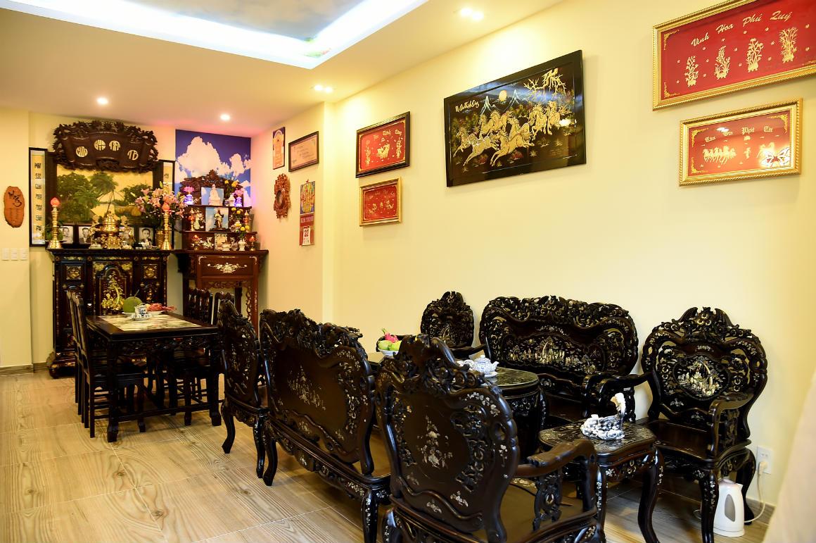 Ngôi nhà màu tím hơn 100 m2 gần triệu đô của nghệ sĩ hài Hồng Tơ - 8
