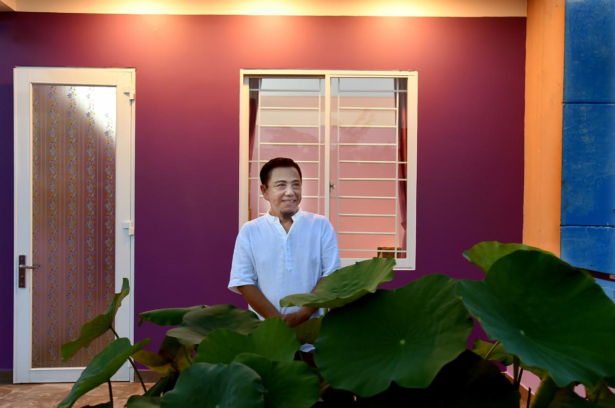Ngôi nhà màu tím hơn 100 m2 gần triệu đô của nghệ sĩ hài Hồng Tơ - 13