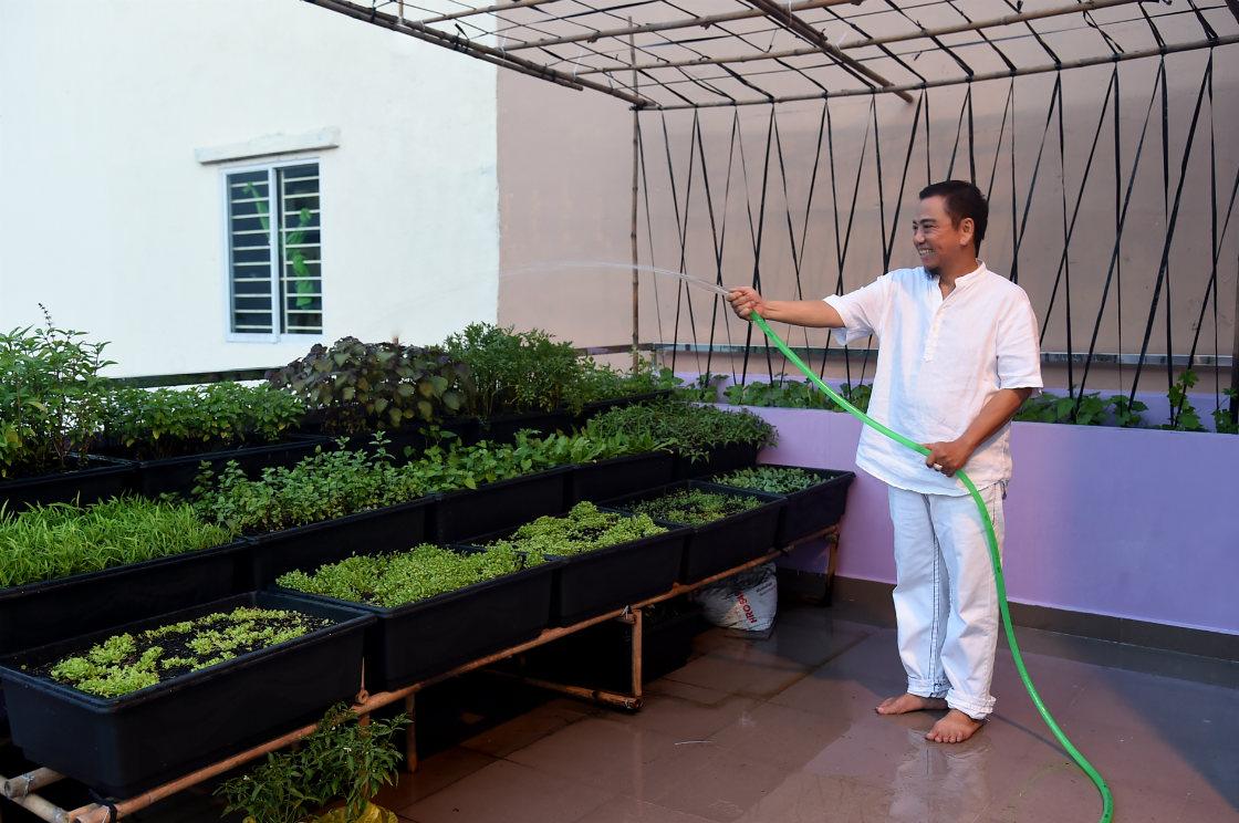 Ngôi nhà màu tím hơn 100 m2 gần triệu đô của nghệ sĩ hài Hồng Tơ - 12