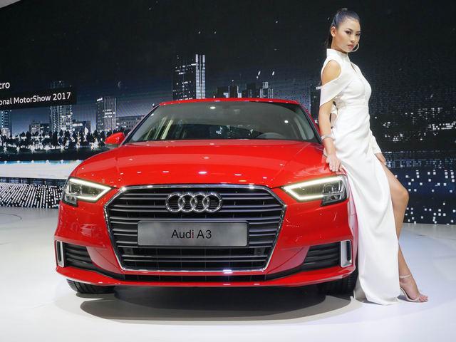 Audi A3 Sportback 2017 giá 1,55 tỷ đồng ở Việt Nam