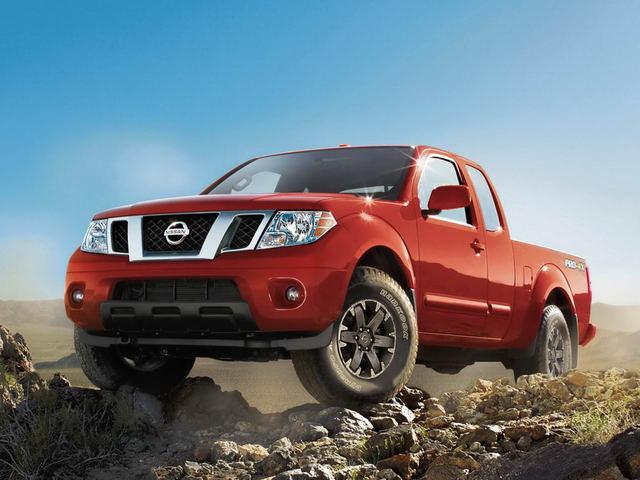 Bán tải Nissan Frontier 2018 có giá từ 453 triệu đồng