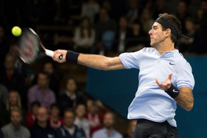 Basel Open ngày 3: Del Potro vào tứ kết, nhận tin vui từ Vienna 1