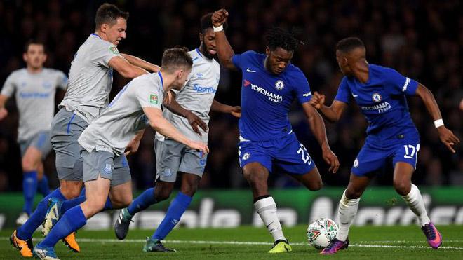 """Chelsea tiếp đà hồi sinh, HLV Conte dọa phế """"bom tấn"""" Morata - 1"""