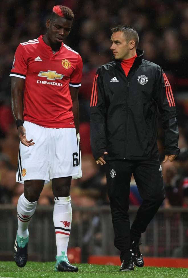 MU - Mourinho: Giữa bão chấn thương, đón tin vui từ Pogba 1