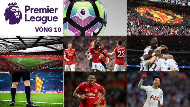 Ngoại hạng Anh trước vòng 10: MU - Tottenham đại chiến, tứ đại gia hưởng lợi 6