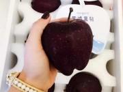 """Thị trường - Tiêu dùng - Giống táo kim cương đen siêu """"độc"""", rẻ nhất cũng 200 nghìn/quả"""