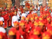 Chùm ảnh: Tang lễ lớn chưa từng thấy của Nhà vua Thái Lan