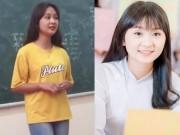 Bạn trẻ - Cuộc sống - Gái xinh hát quan họ trong lớp học hút triệu lượt xem