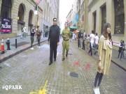 Video: Dân Mỹ kinh ngạc khi thấy  Kim Jong-un  nện gót ở New York