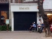"""Tin tức trong ngày - Động thái """"lạ"""" ở loạt cửa hàng khăn lụa Khaisilk"""