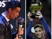 Messi thua Ronaldo  The Best , thắng  Quả bóng Vàng : Tại sao không?
