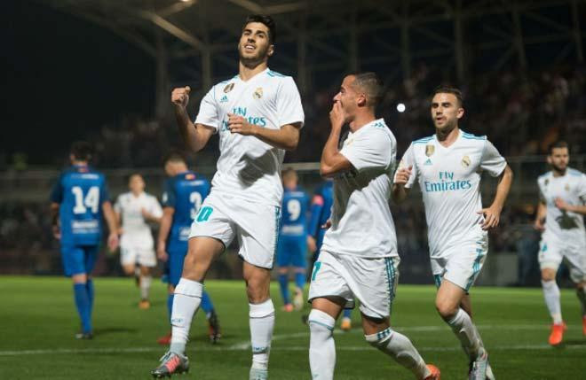 Fuenlabrada - Real Madrid: Trận đấu của 2 quả 11m & 2 thẻ đỏ