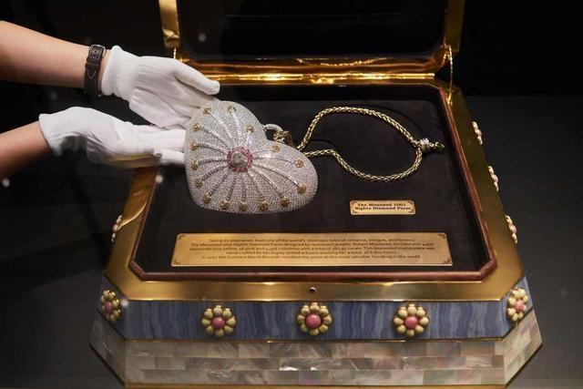 Cận cảnh chiếc ví cầm tay đắt nhất thế giới, nạm 4500 viên kim cương - 6