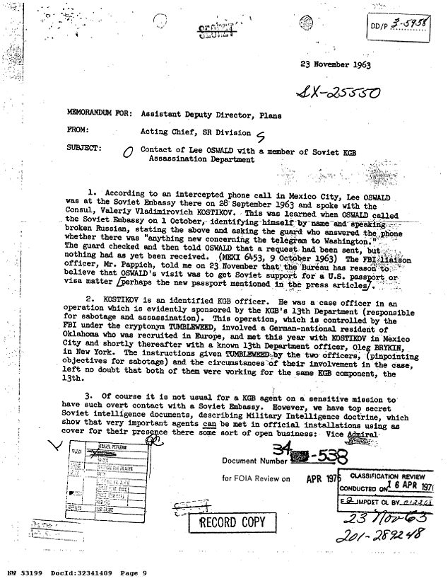 Tiết lộ bất ngờ về nghi phạm bắn chết Tổng thống Mỹ Kennedy - 3