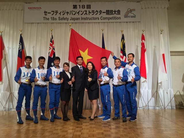 Honda Việt Nam thắng Cuộc thi Hướng dẫn viên Lái xe an toàn Quốc tế 2017 tại Nhật Bản - 6