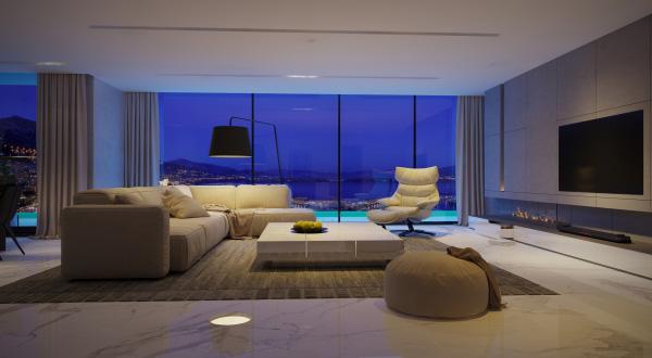 TV LG OLED siêu mỏng - điểm nhấn hoàn hảo trong căn hộ đẳng cấp Vinhomes Golden River - 2