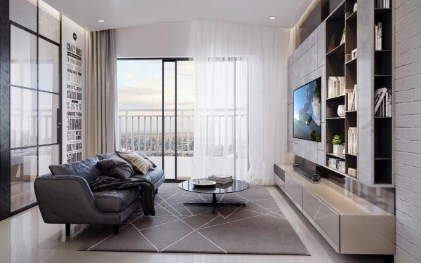 TV LG OLED siêu mỏng - điểm nhấn hoàn hảo trong căn hộ đẳng cấp Vinhomes Golden River - 3