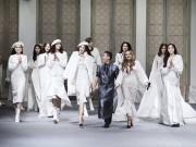 Thời trang - Mỹ nhân Việt sắc lạnh  với váy áo trắng xóa như công chúa tuyết