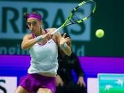Thể thao - WTA Finals ngày 6: Halep thua sốc, Garcia và Wozniacki vào bán kết