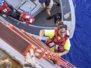 Thế giới - Lênh đênh trên biển 5 tháng, hai cô gái Mỹ sống sót nhờ mang thứ này