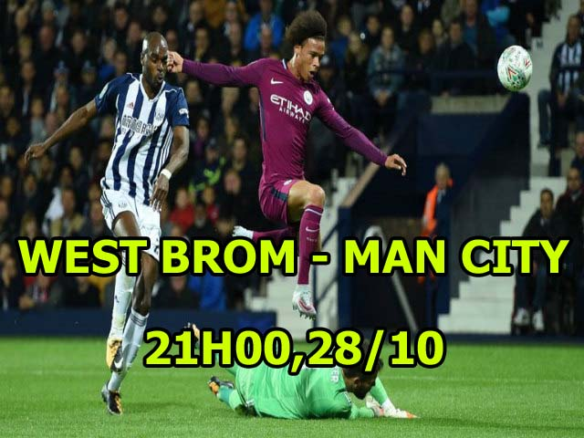 West Brom – Man City: Mơ địa chấn ở The Hawthorns