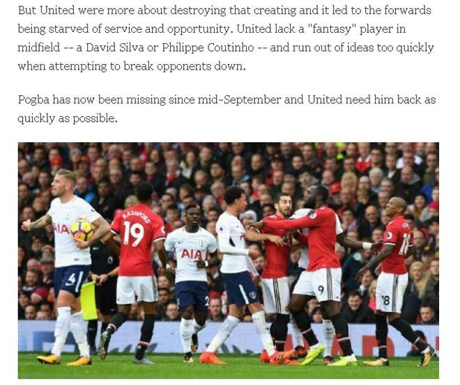 Báo Anh: MU và Tottenham cân tài cân sức, khen Martial siêu dự bị 2