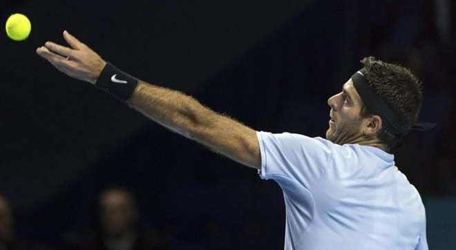 Basel Open ngày 5: Del Potro vào chung kết, áp sát vé ATP Finals 1