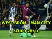 West Brom - Man City: Mơ địa chấn ở The Hawthorns