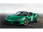 "Ferrari 488 Spider  "" Green Jewel ""  giá gần 30 tỷ đồng"