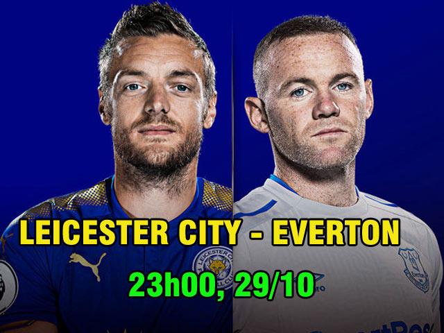 "TRỰC TIẾP bóng đá Leicester - Everton: Rooney muốn ""đá cặp"" với Sanchez 22"