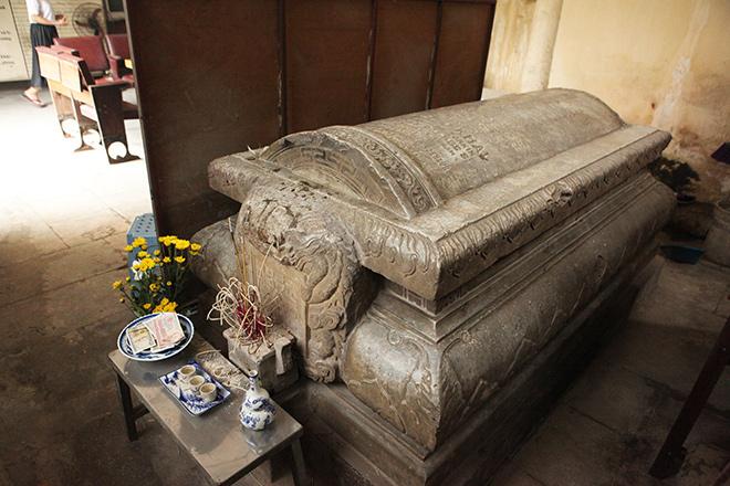 Khám phá công trình lăng mộ cổ bằng đá bậc nhất Thủ đô - 9