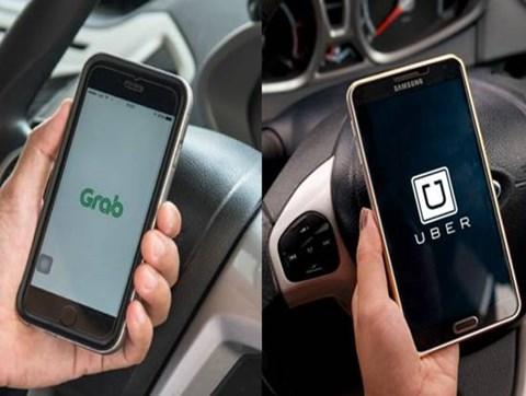 """Bộ Công Thương đề nghị """"siết"""" Uber, Grab cho công bằng với taxi truyền thống"""