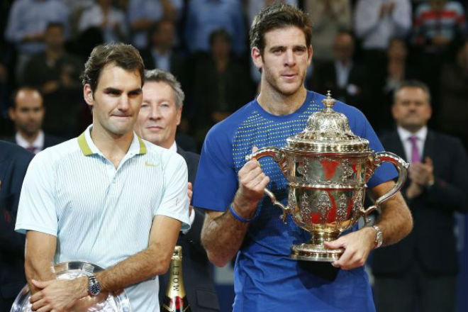 """Chung kết Basel Open: Federer đe dọa Nadal, Del Potro muốn """"song hỷ"""" 2"""