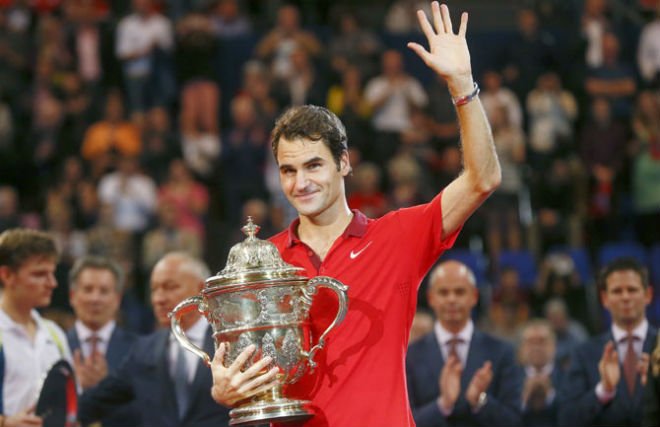 """Chung kết Basel Open: Federer đe dọa Nadal, Del Potro muốn """"song hỷ"""" 1"""