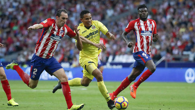 Atletico Madrid - Villarreal: Đôi công rực lửa - 1