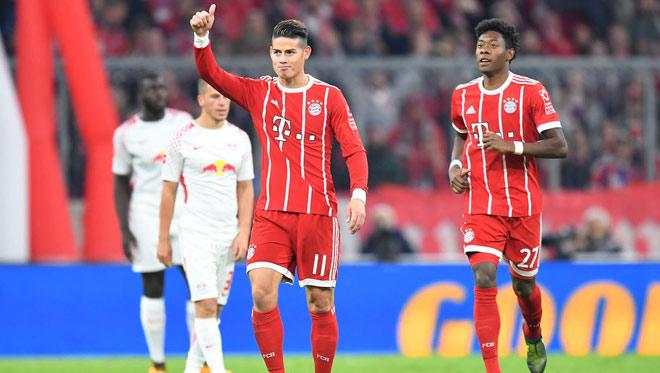 """Bayern Munchen - Leipzig: Thẻ đỏ cay đắng, """"song sát"""" tỏa sáng - 1"""